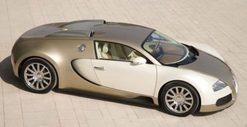 Imagini cu un Bugatti Veyron  auriu8616