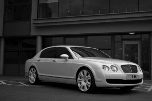 Bentley Flying Spur alb perlat!8597