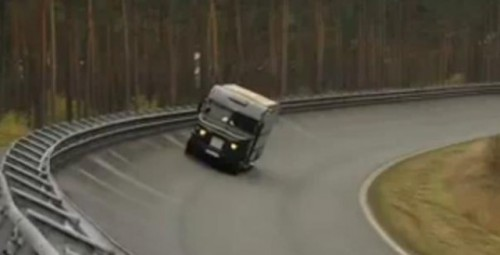 VIDEO: UPS transforma o furgoneta intr-o masina de curse8570