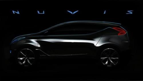 Hyundai a lansat o imagine de presa cu conceptul Nuvis!8557