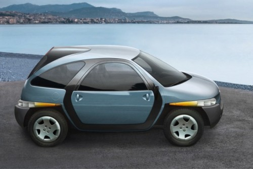 Concept car: Fioravanti Tris8550