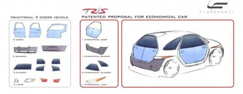 Concept car: Fioravanti Tris8554