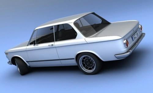 Vizualtech plateste tribut modelului BMW 2002!8472
