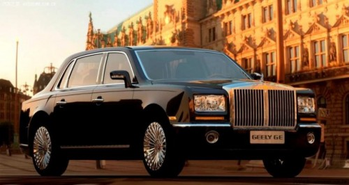 Geely GE, clona chinezeasca pentru Rolls-Royce Phantom8436
