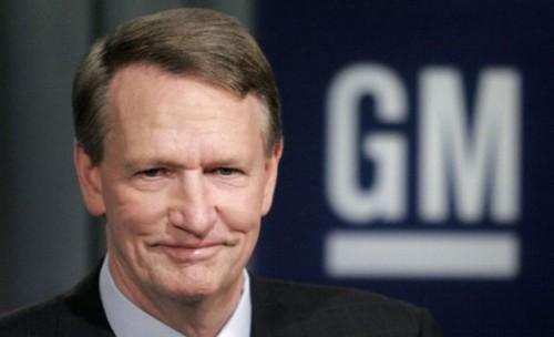 Rick Wagoner primeste 20 de mil. $ pentru demisia de la GM8427