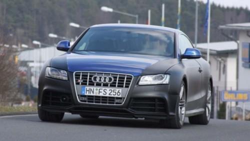 Audi continua testele modelului RS5 odata cu inceperea primaverii!8423