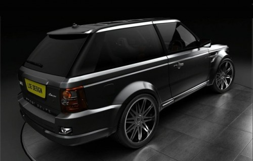 Tiret Coupe bazat pe LSE Design Range Rover Sport!8414