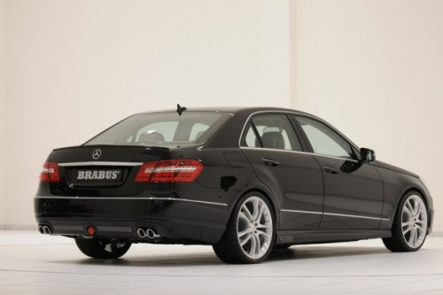 Brabus a tunat Mercedes E-Klasse8322