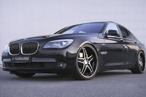 Primele imagini cu BMW Seria 7 Hamann!8210