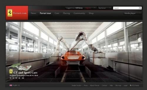 Noul site oficial al Ferrari va fi lansat in timpul cursei de Formula 1 de la Melbourne!8187