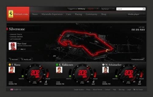 Noul site oficial al Ferrari va fi lansat in timpul cursei de Formula 1 de la Melbourne!8191