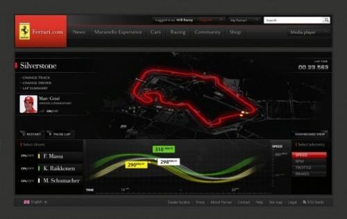 Noul site oficial al Ferrari va fi lansat in timpul cursei de Formula 1 de la Melbourne!8192