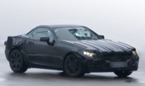 Imagini-spion: Mercedes SLK 20128020