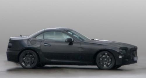Imagini-spion: Mercedes SLK 20128021