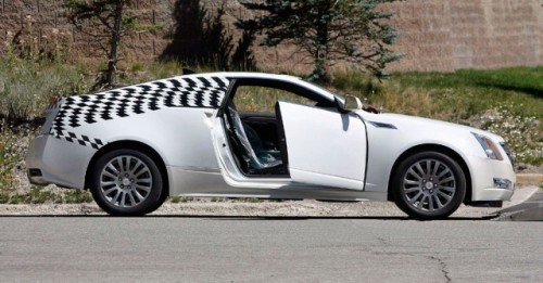Imagini spion cu Cadillac CTS Coupe!7993
