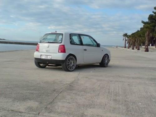 Video cu demarajul unui Volkswagen Lupo cu doua motoare VR6!7839