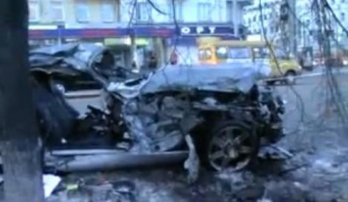 VIDEO: Accident teribil intr-o intersectie din Rusia7806