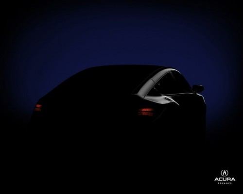 Noi imagini cu crossoverul Acura!7659