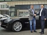 Hagi a primit noul BMW 750 Li7631