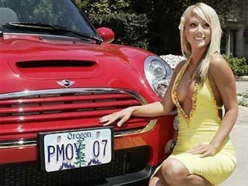 Playmate-ul anului 2007 isi vinde Mini-ul!7511
