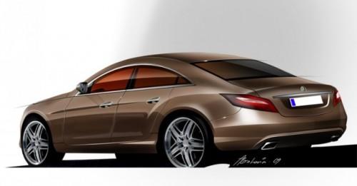 Asa va arata Mercedes-Benz CLS ?7505
