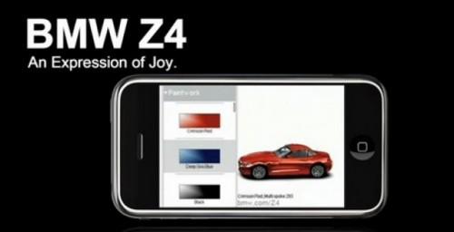 BMW a lansat jocul Z4 pentru iPod si iPhone7441