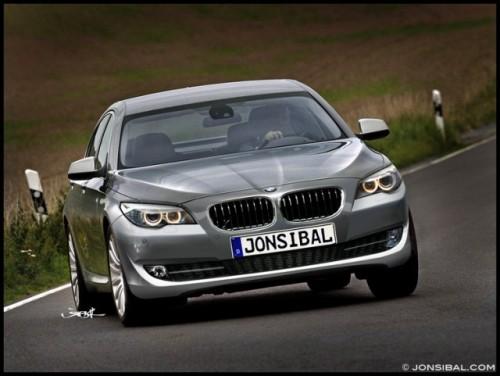 Asa va arata noua Serie 5 de la BMW ?7420