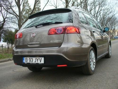 Drive-test cu Fiat Croma7336