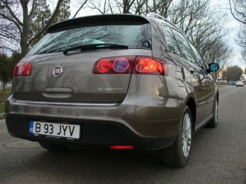 Drive-test cu Fiat Croma7345