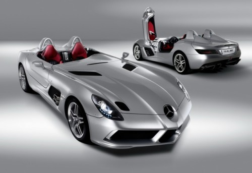 Iata noul supercar Mercedes SLR Stirling Moss!7296