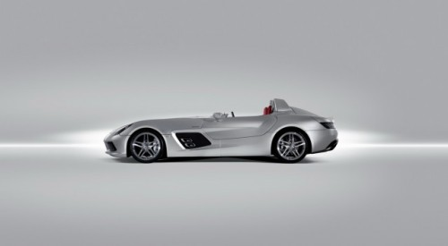 Iata noul supercar Mercedes SLR Stirling Moss!7305