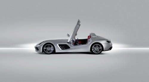 Iata noul supercar Mercedes SLR Stirling Moss!7306