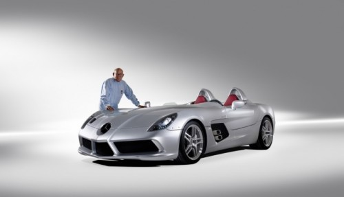 Iata noul supercar Mercedes SLR Stirling Moss!7310