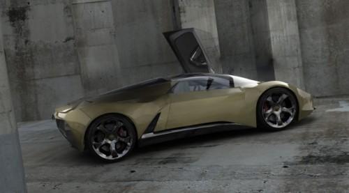 EXCLUSIV: Un roman a desenat Lamborghini-ul viitorului7178