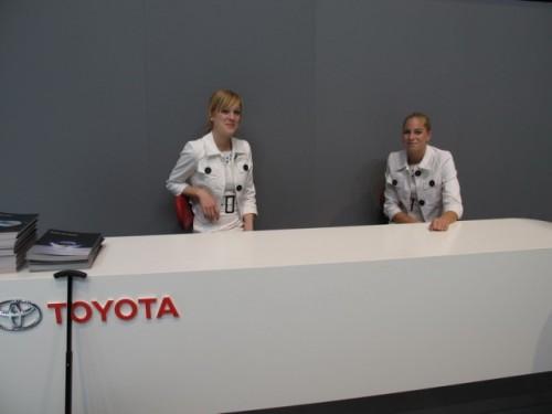 Geneva 2009: standul Toyota7116