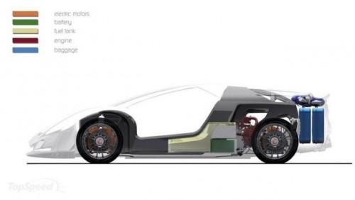 Giugiaro Namir - cel mai rapid hybrid din lume7080