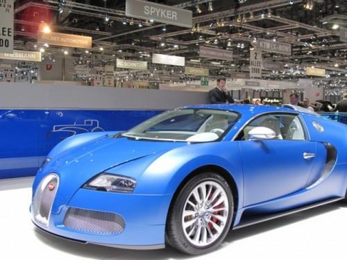 Bugatti Veyron Bleu Centenaire7063