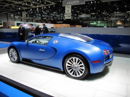 Bugatti Veyron Bleu Centenaire7066
