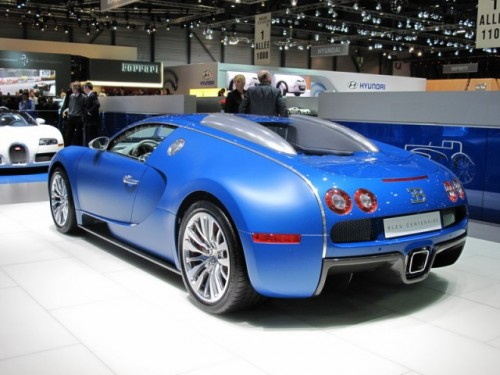 Bugatti Veyron Bleu Centenaire7067