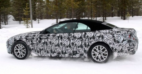 Noi imagini spion cu BMW seria 6 Cabrio!6959