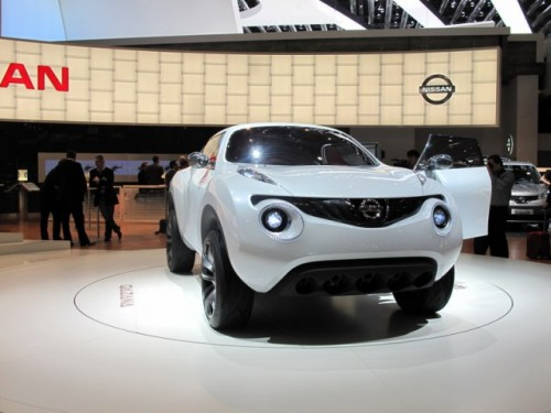 Geneva 2009: Nissan Qazana Concept6937