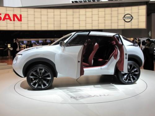 Geneva 2009: Nissan Qazana Concept6942