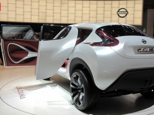 Geneva 2009: Nissan Qazana Concept6944