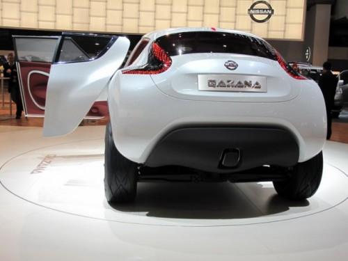 Geneva 2009: Nissan Qazana Concept6945