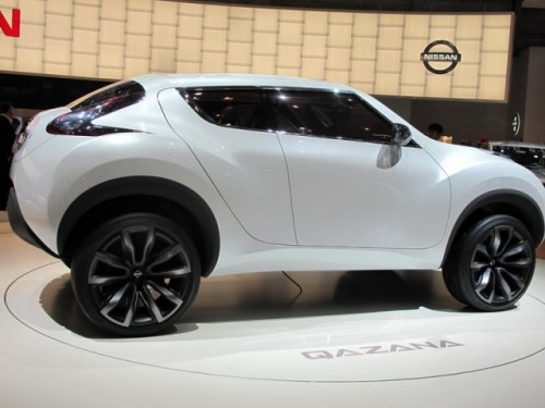 Geneva 2009: Nissan Qazana Concept6948