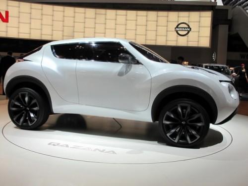 Geneva 2009: Nissan Qazana Concept6950