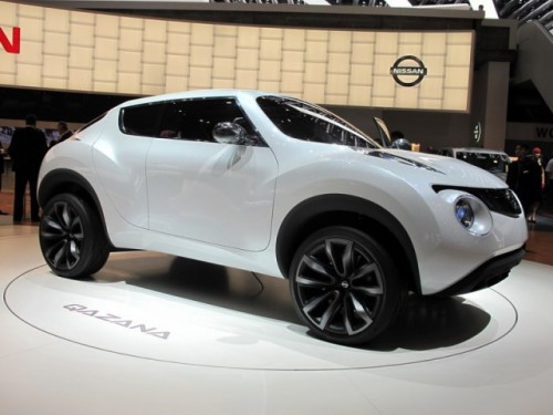 Geneva 2009: Nissan Qazana Concept6951