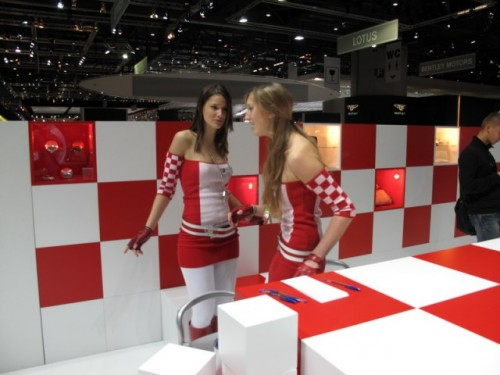 Geneva 2009: Standul Abarth alb-rosu peste tot!6886