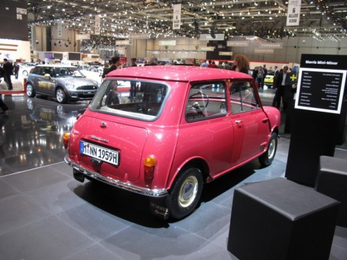 Geneva 2009: Standul Mini6857