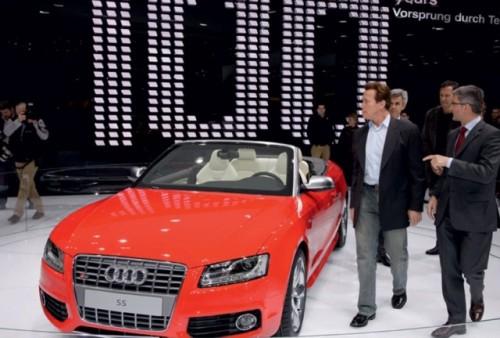 Arnold Schwarzenegger a vizitat Salonul Auto de la Geneva6678